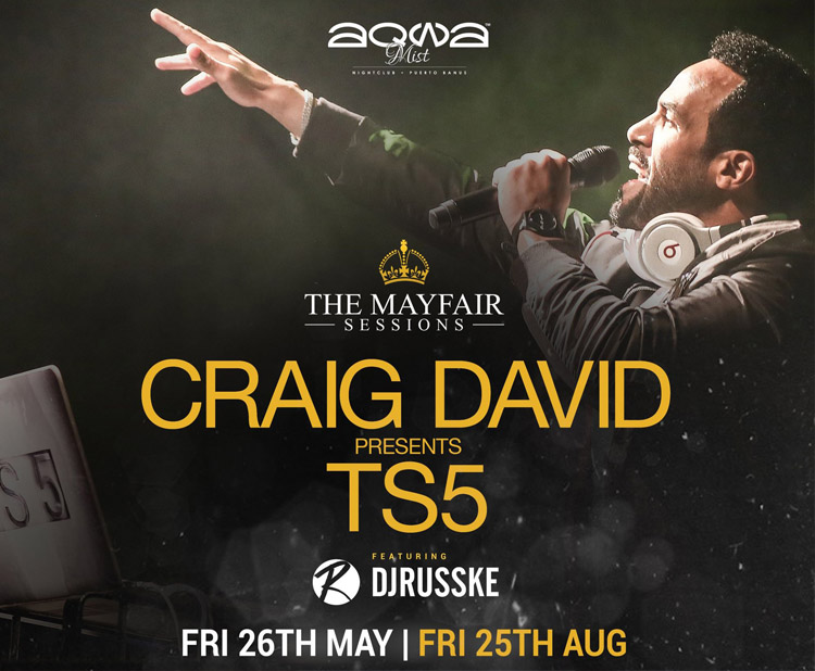 Craig David at Aqwa Mist